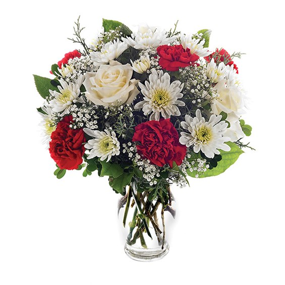 Holiday Happiness Flower Bouquet